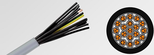 Huadong China flexible control cable