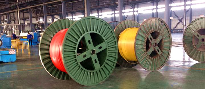 Huadong cable factory conductor after insulated XLPE