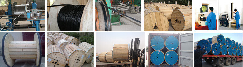 Huadong instrument cable package and transportation