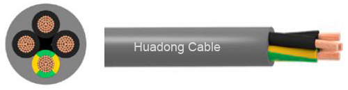 cheap YY PVC flexible control cable for sale