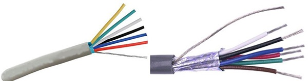 6 core shielded cable manufacturers