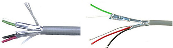 China 2 core shielded cable manufacturers