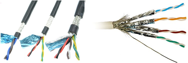 customize quality 18 gauge shielded twsited pair cable