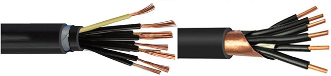 customize_copper-aluminum-steel_tape_armoured_screen _flexible_control_cables