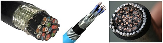 screened armoured cable free sample - Huadong